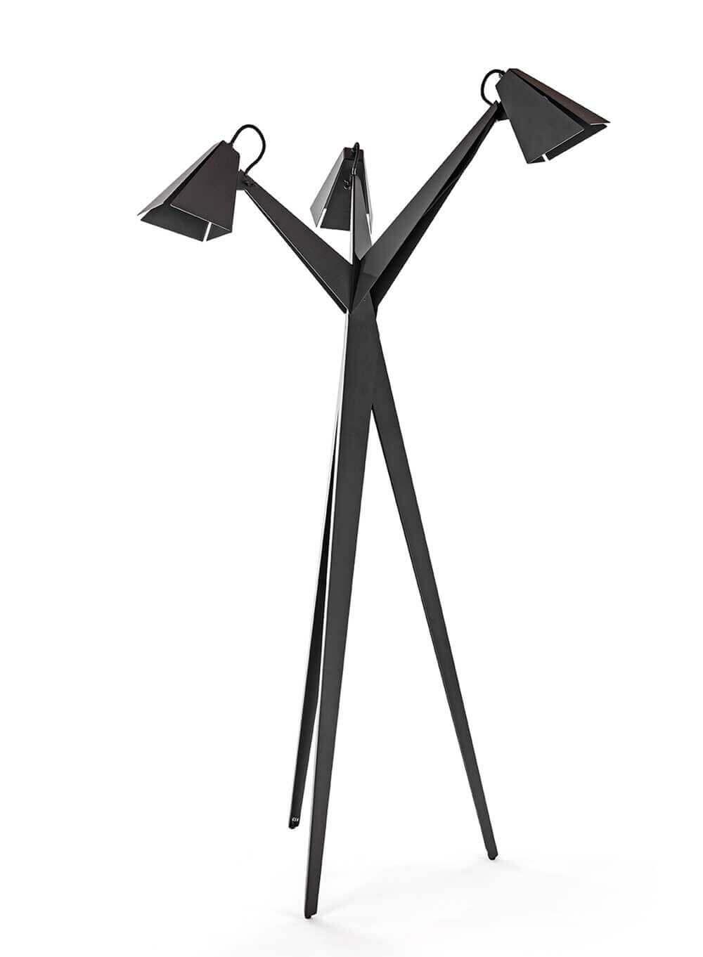 BLOEM design vloerlamp, elegant, circulair. Biophilic-design