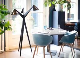 BLOEM iconic floor lamp circulair. Biophilic-design