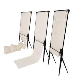 Design whiteboard flipover papierrolhouder interieurarchitectuur kantoorinrichting
