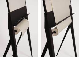 design whiteboard flipchart paperroller