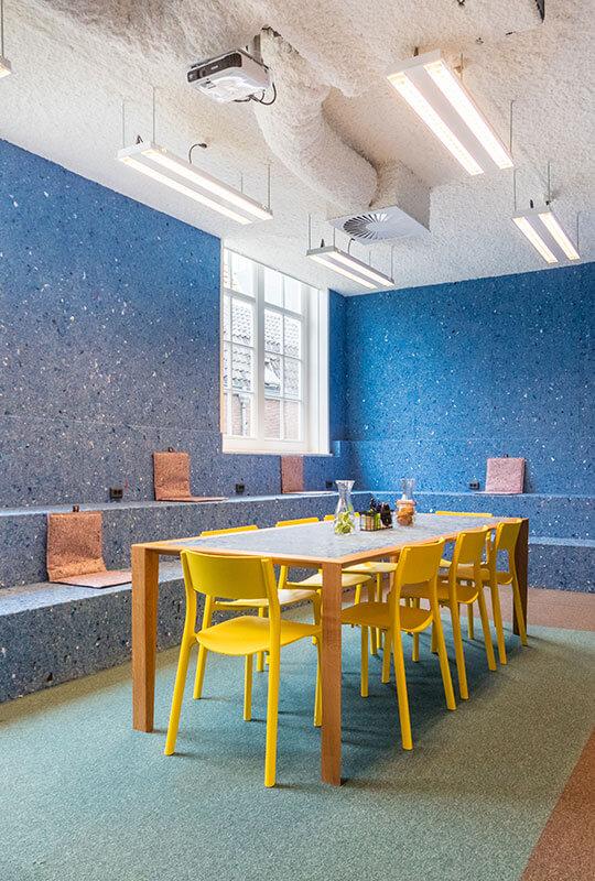Social factory design lab voor creativiteit