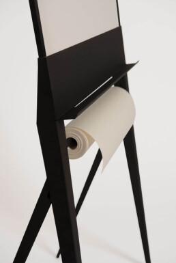 Design flip-over, whiteboard met papierrol - Designboard STRUIS