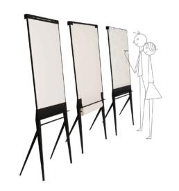 designbord whiteboard flip-over papierrol STUDIOVIX