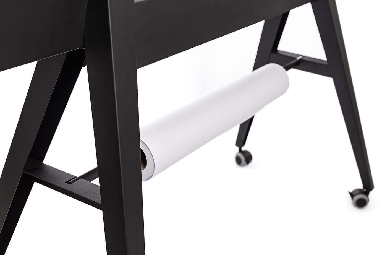 Scrumboard, design whiteboard mit Papierabroller