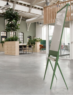 opklapbare design flip-over met papierroller; foldable design flip-chart
