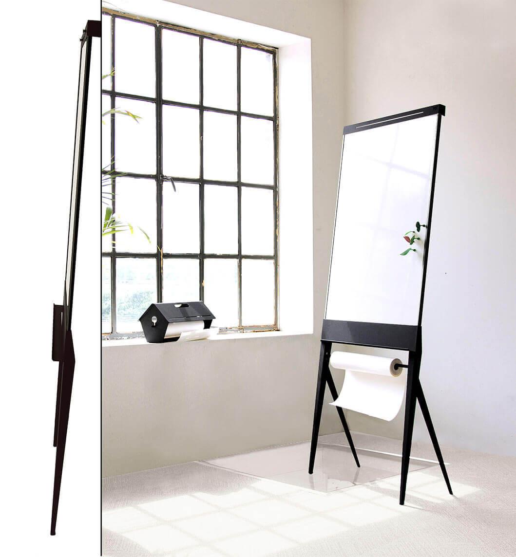 Elegante en veelzijdige mobiele flip-over voor de mooiste interieurs