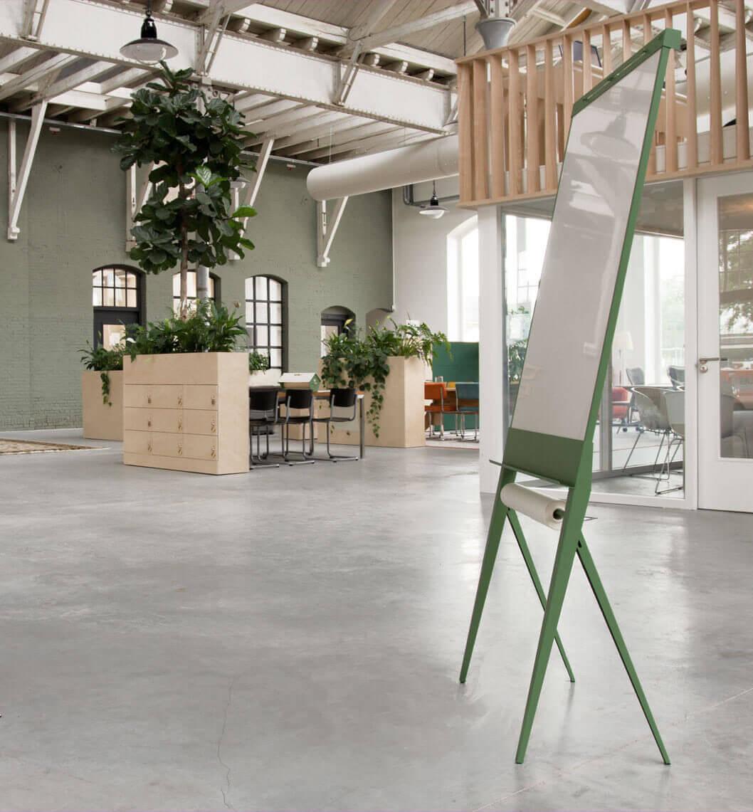 design whiteboard flipover interieur UCo