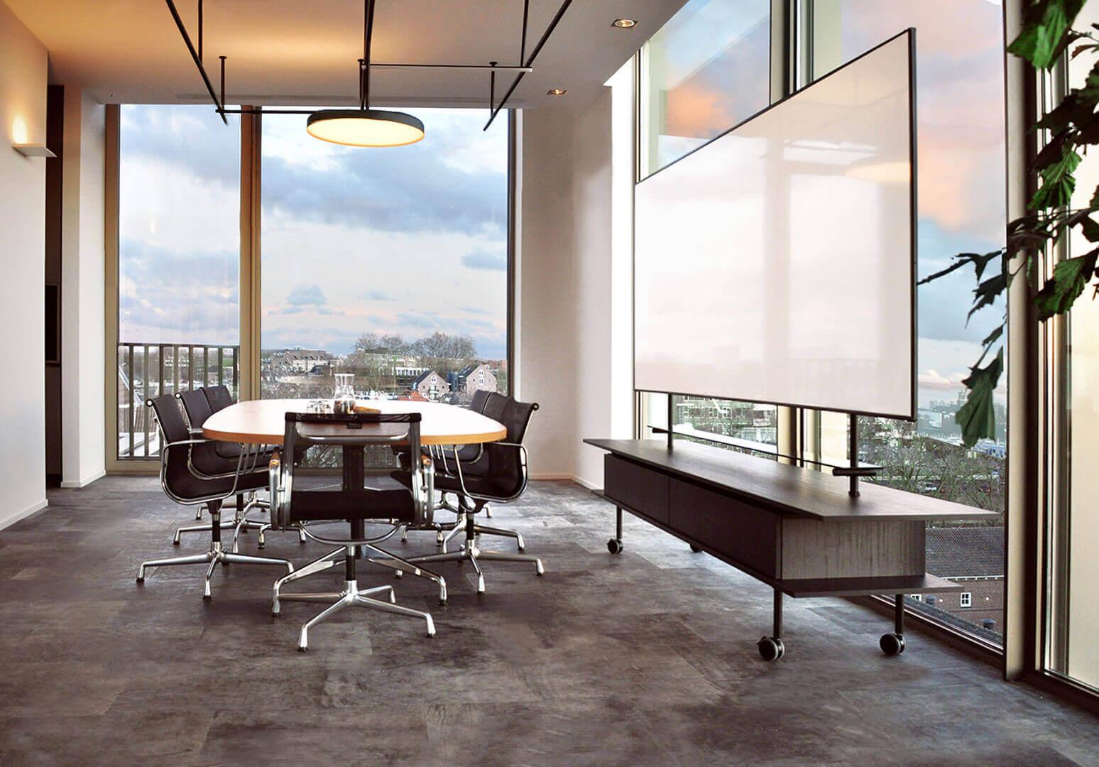 Een stijlvol uniek whiteboard meubel op maat