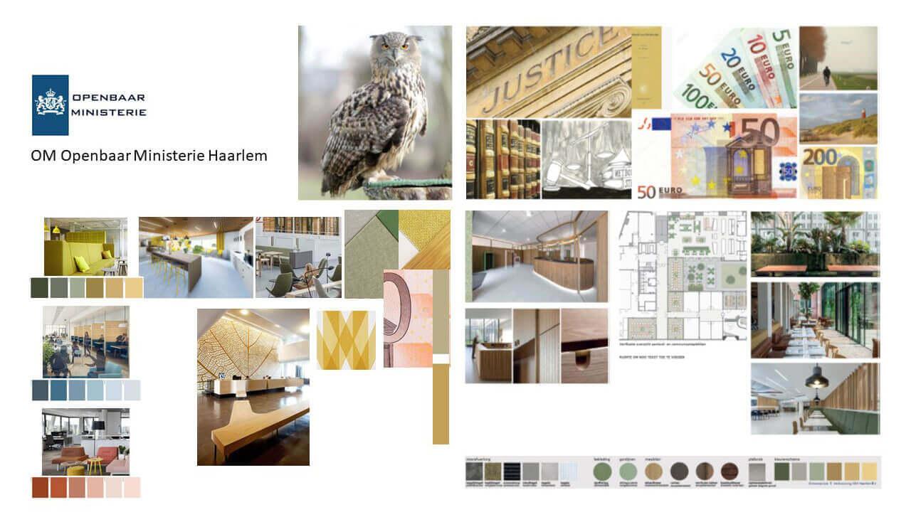 Kantoor interieurontwerp OM Haarlem