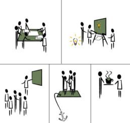 Kantoor als ontmoetingsplaats - een interieurontwerp op maat