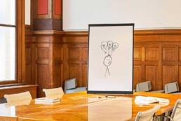 SNIP flex-whiteboard magnetisch en multi-inzetbaar