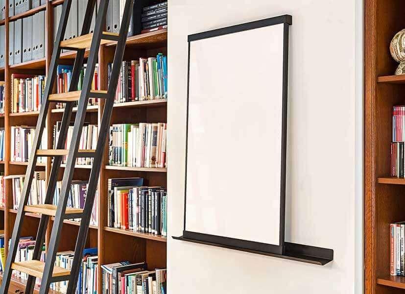 elegant magnetisch whiteboard, wand & vrijstaand