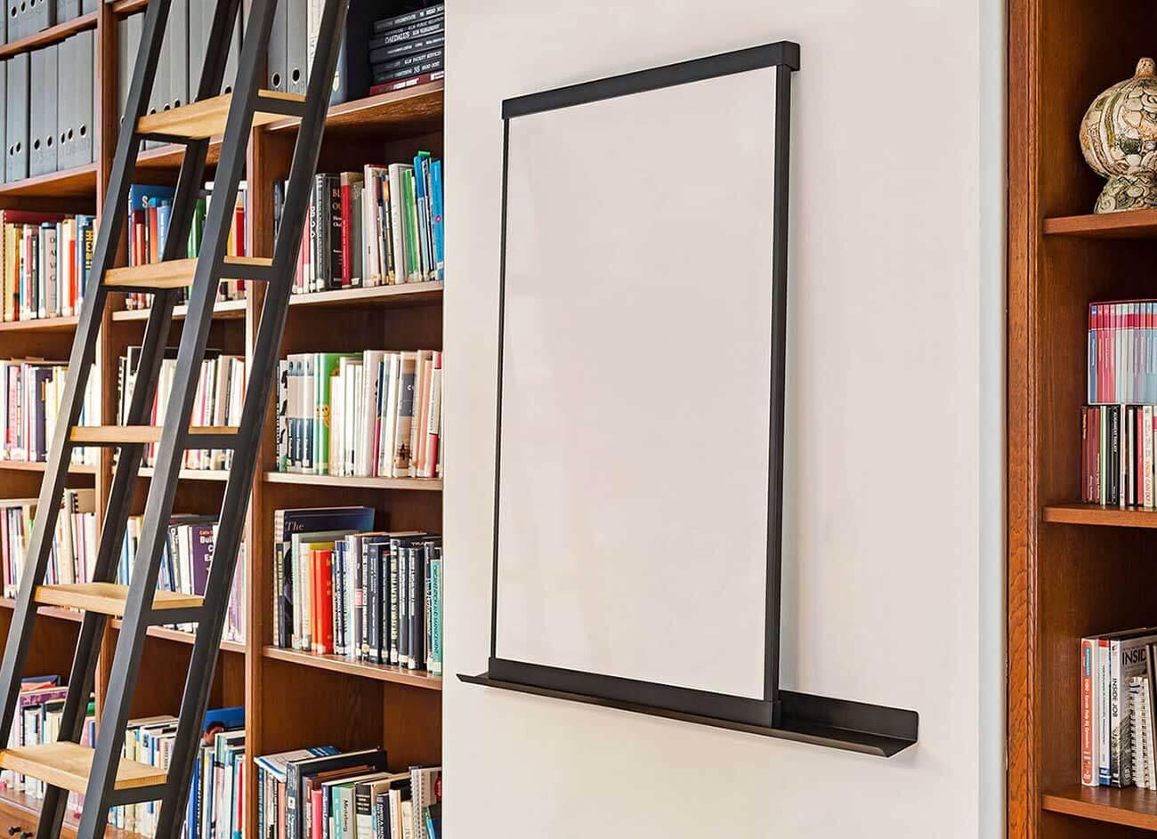 elegant magnetisch design whiteboard, wand & vrijstaand
