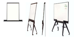 Stijlvolle magnetische whiteboards & flip-overs - veelzijdig inzetbaar